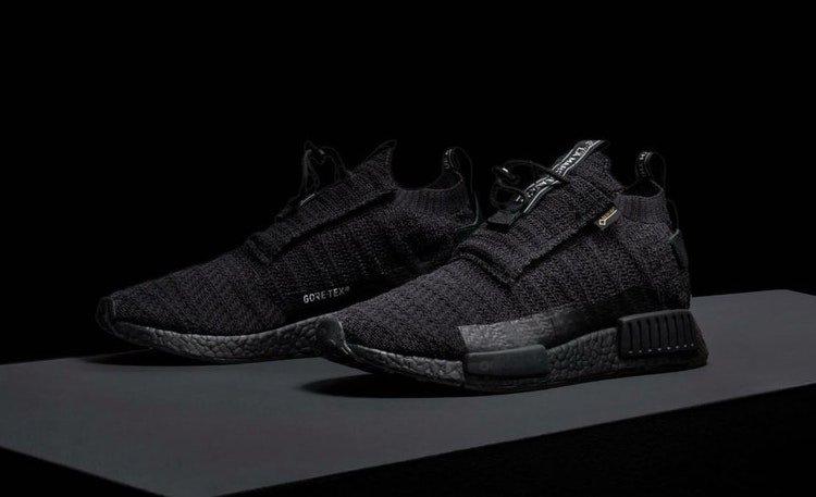 adidas NMD TS1 GORE TEX TRIPLE BLACKが